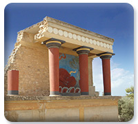 Knossos palace from Minoan Crete