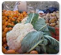 Vegetables in Symi, Greece